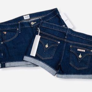 Hudson | Denim Cuffed Shorts